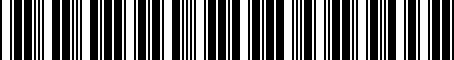 Barcode for 04857931AD