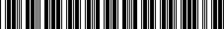 Barcode for 04889598AC