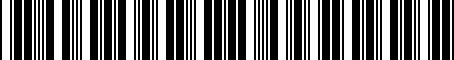 Barcode for J4200327