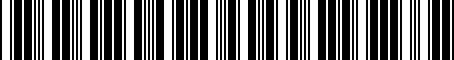 Barcode for 04593580AC