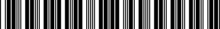 Barcode for 04630350