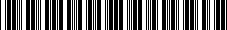 Barcode for 04692335AH