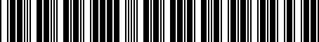 Barcode for 04734058AB