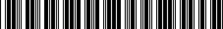 Barcode for 04792317AB
