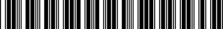 Barcode for 04792578AA