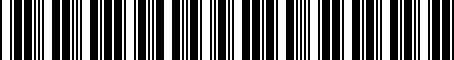 Barcode for 04861057