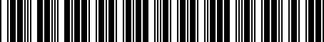 Barcode for 04883813AA