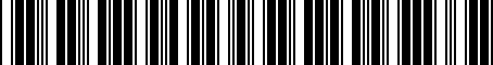 Barcode for 04891705AC