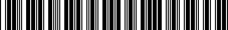 Barcode for 05014243AA