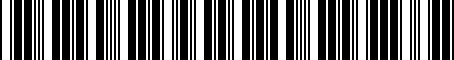 Barcode for 05014460AC
