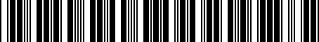 Barcode for 05064225AC