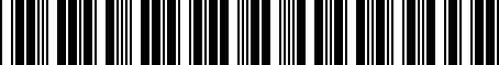 Barcode for 05083365AD