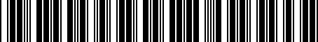 Barcode for 05174039AB