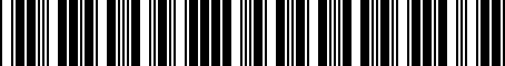 Barcode for 05273556AE