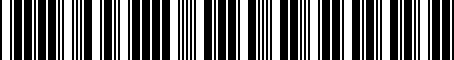 Barcode for MD734507