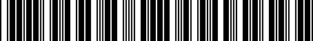 Barcode for MR334386