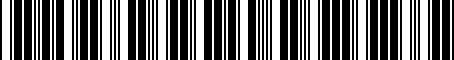 Barcode for SP070507AC