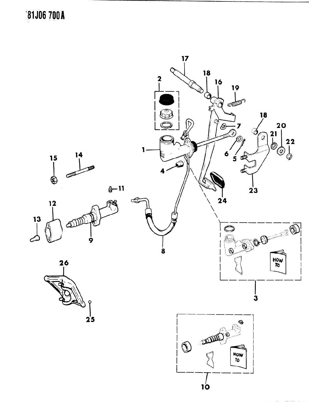 jeep cj7 clutch linkage diagram