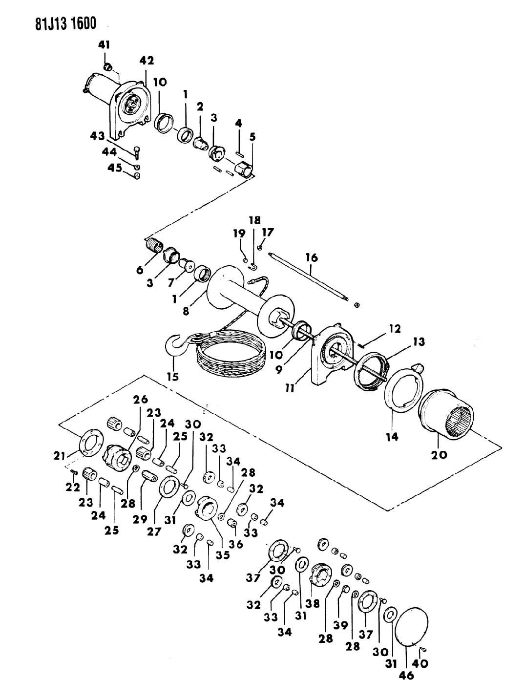 Wiring Diagram 1200 Ramsey Winch Diagrams Pierce Hydraulic Parts Bing Images