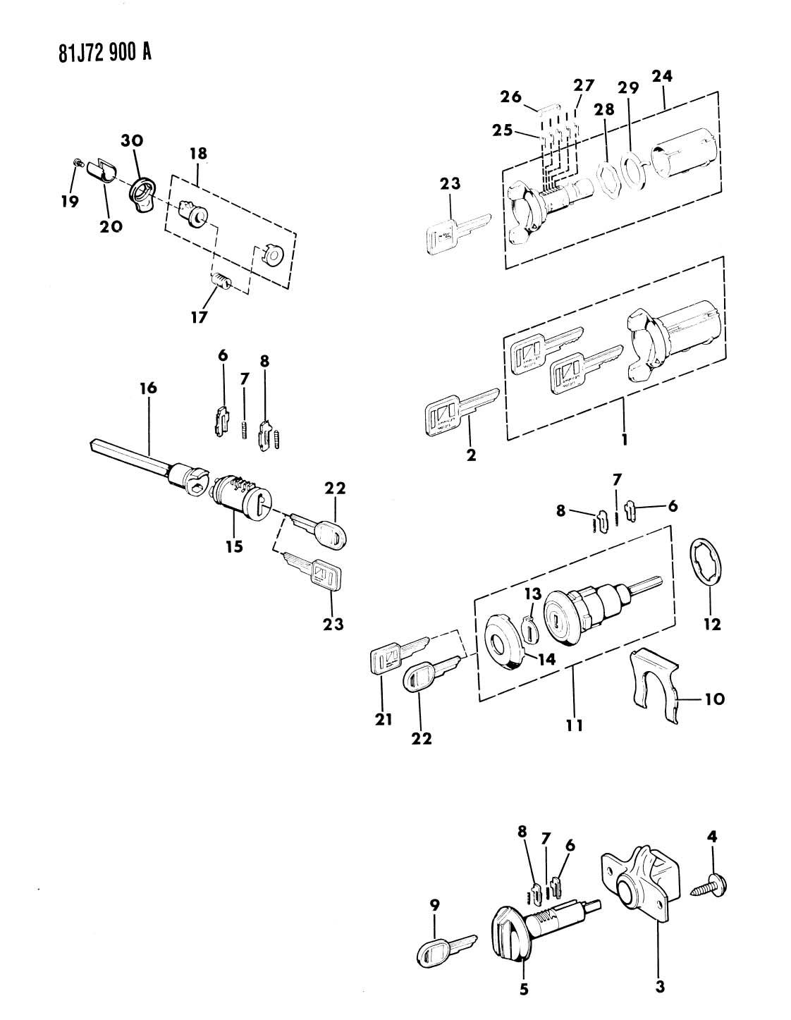 similiar j10 jeep lock cylinder keywords cylinders and keys sj cherokee sj wagoneer j10 j20 fits jeep grand