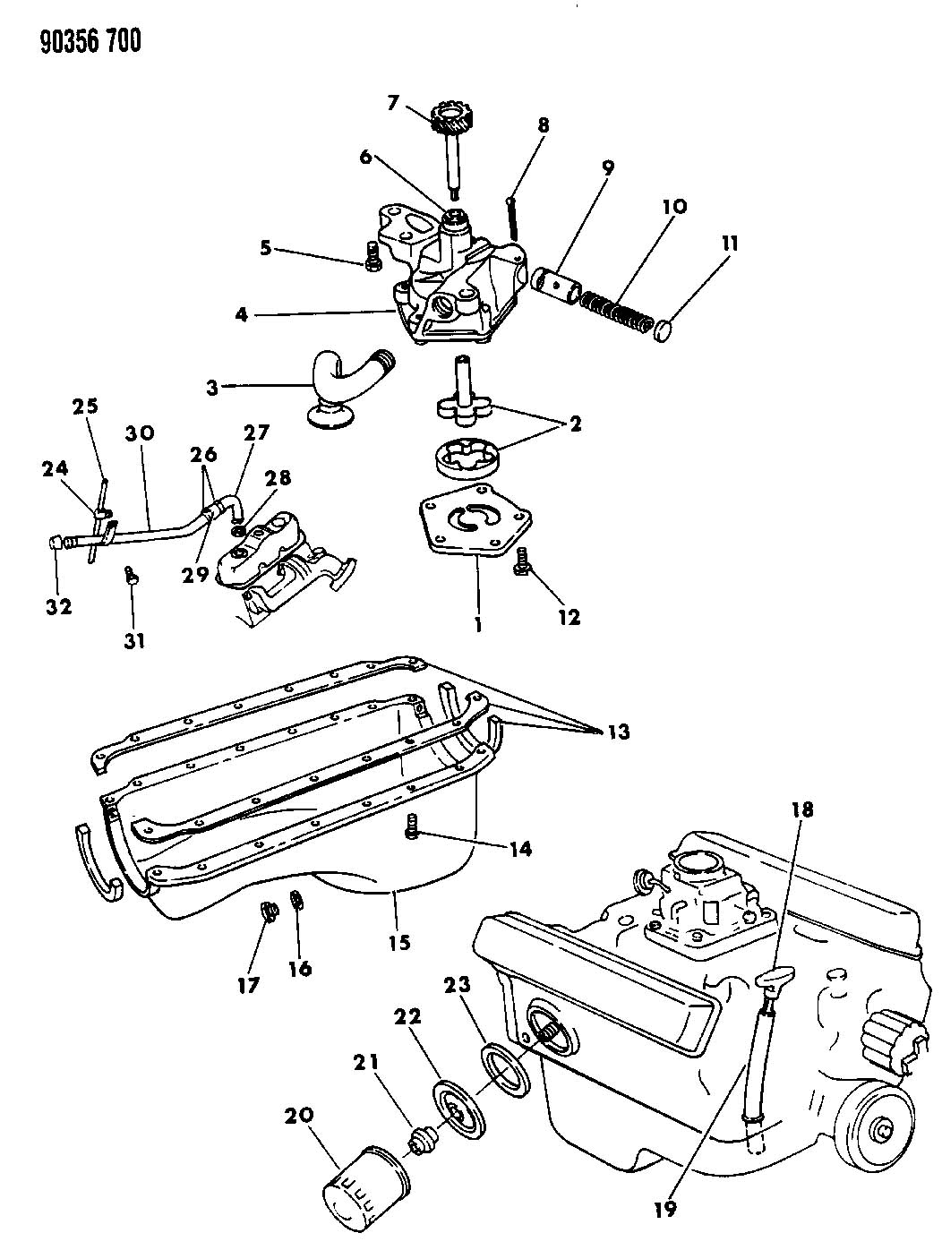 chrysler 360 marine engine diagram
