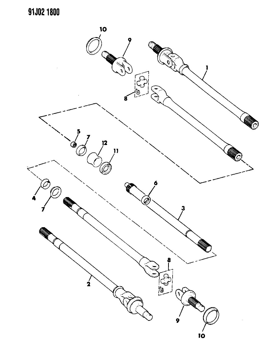 1987 dodge ram 50 parts