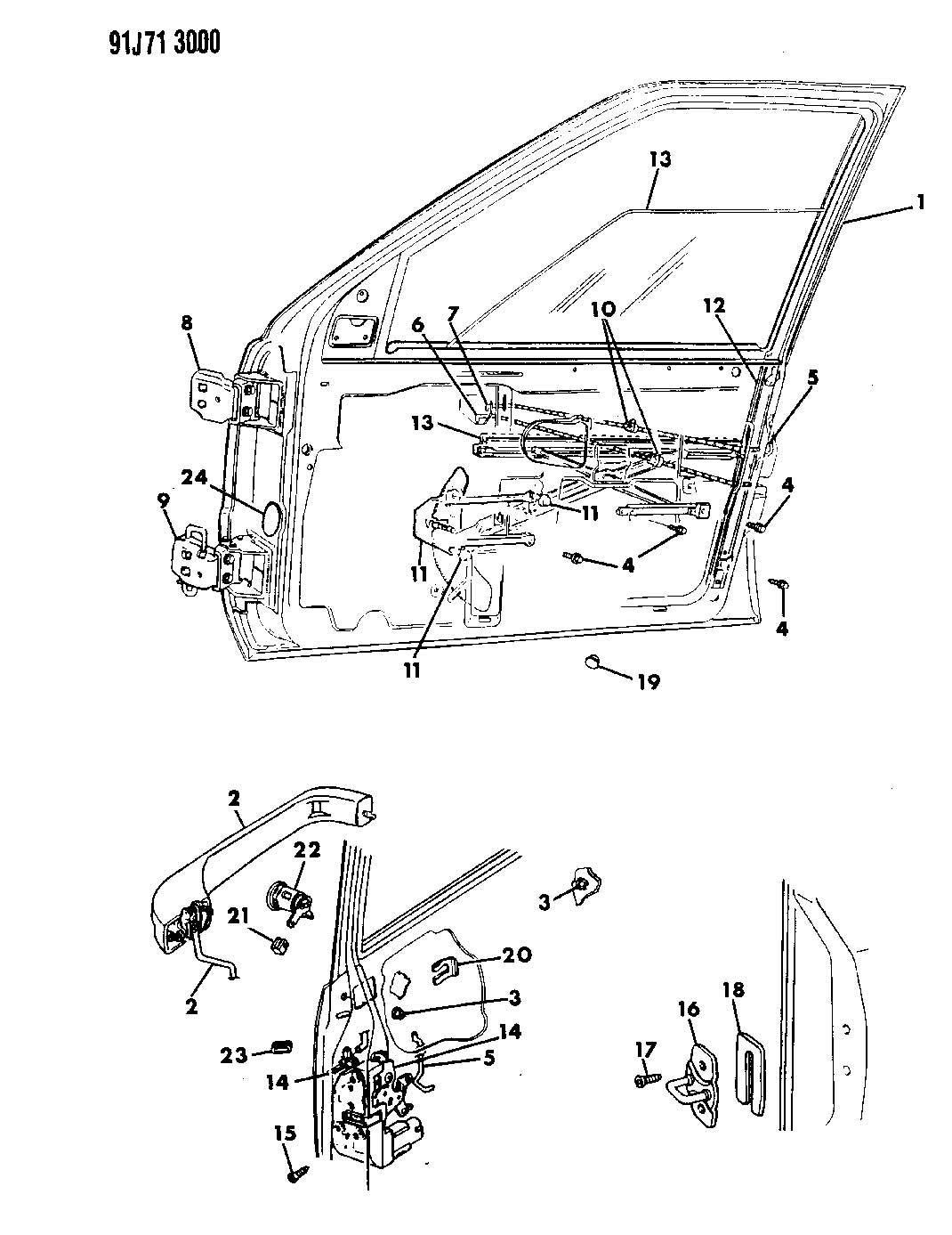 Double Triangulated Rear 4 Link Suspension Kit Links Optional likewise Illust Ref c Exhaust furthermore Universal Wiring Harness Road Light P 240 moreover ZJ Grand Cherokee Parts moreover 1993 Chevy Truck Parking Brake Light. on jeep door parts html