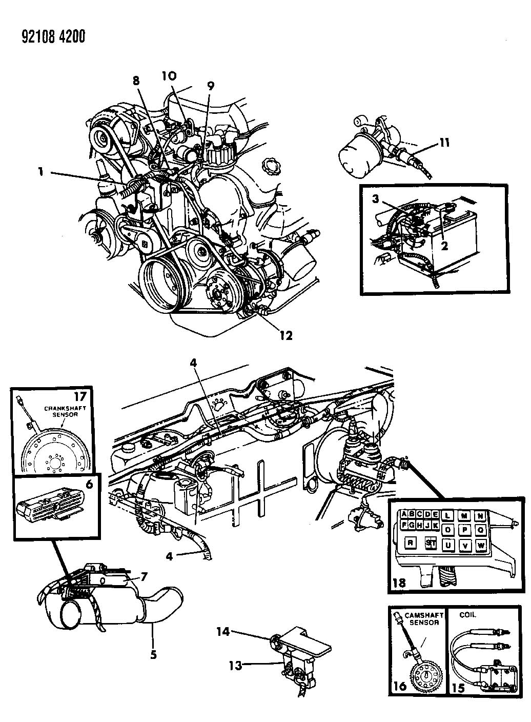 Plymouth Engine Diagram Daily Update Wiring 1992 Acclaim 95 Auto 1998 Breeze 1999