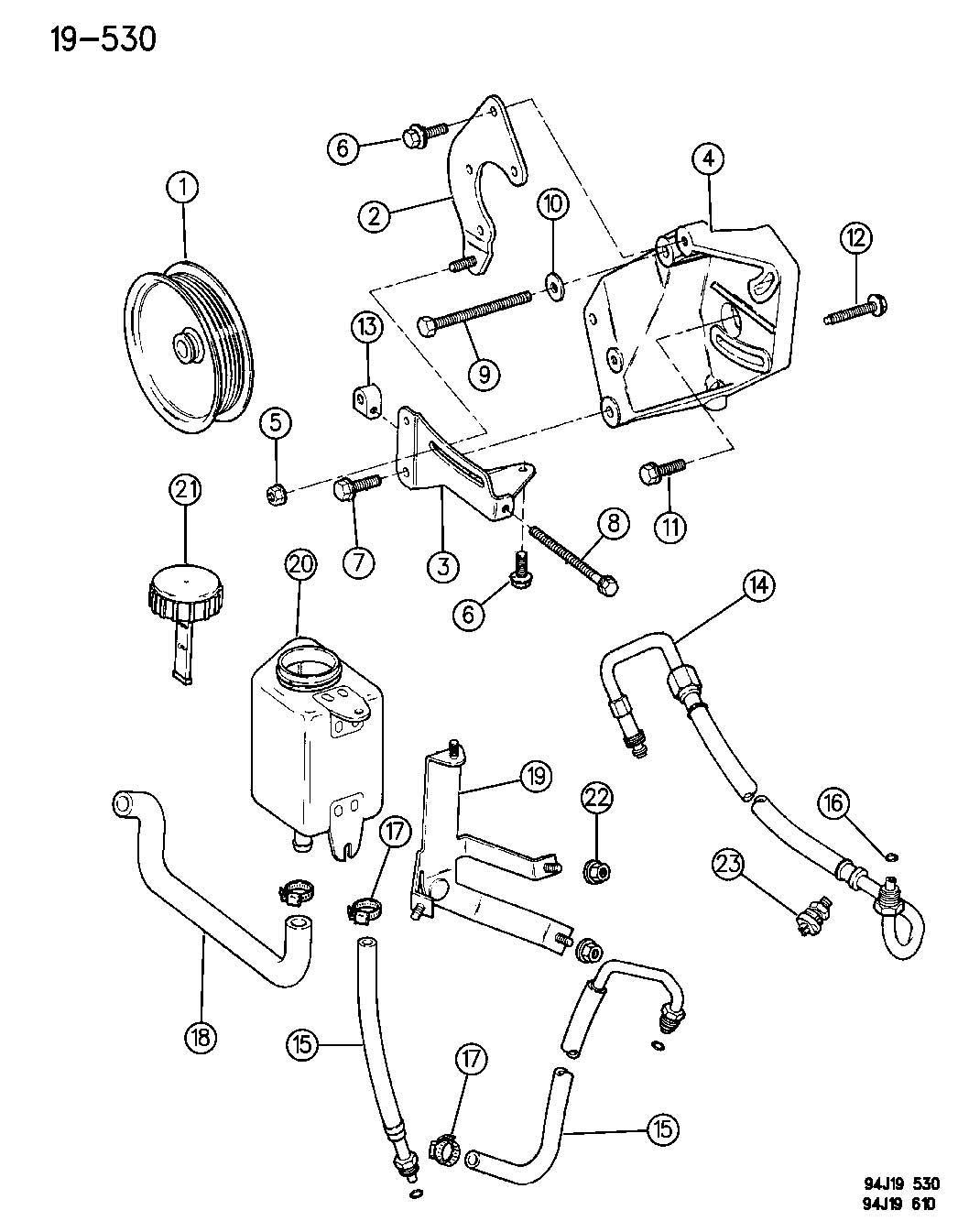 jeep grand cherokee power steering engine diagram  jeep