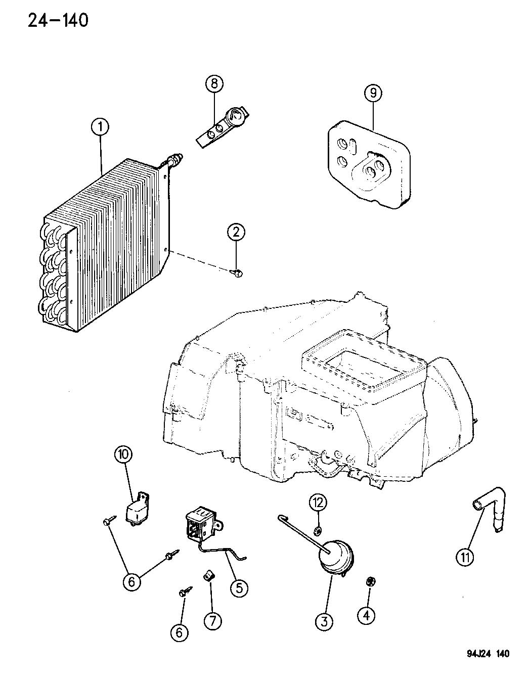 1996 jeep cherokee hood latch diagram