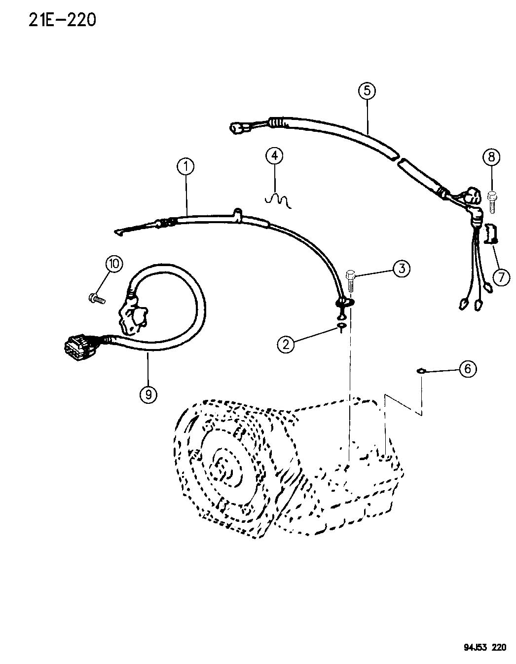 1984 jeep wagoneer xj wiring diagram