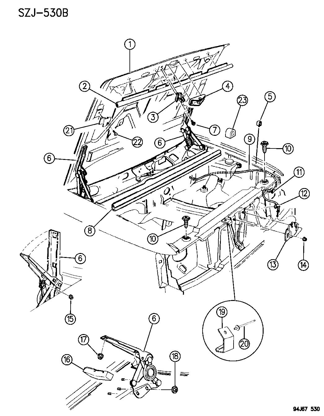Fuse Box Diagram 2004 Jeep Wrangler Unlimited Free Engine Image Comanche Hood Latch For User Manual Download