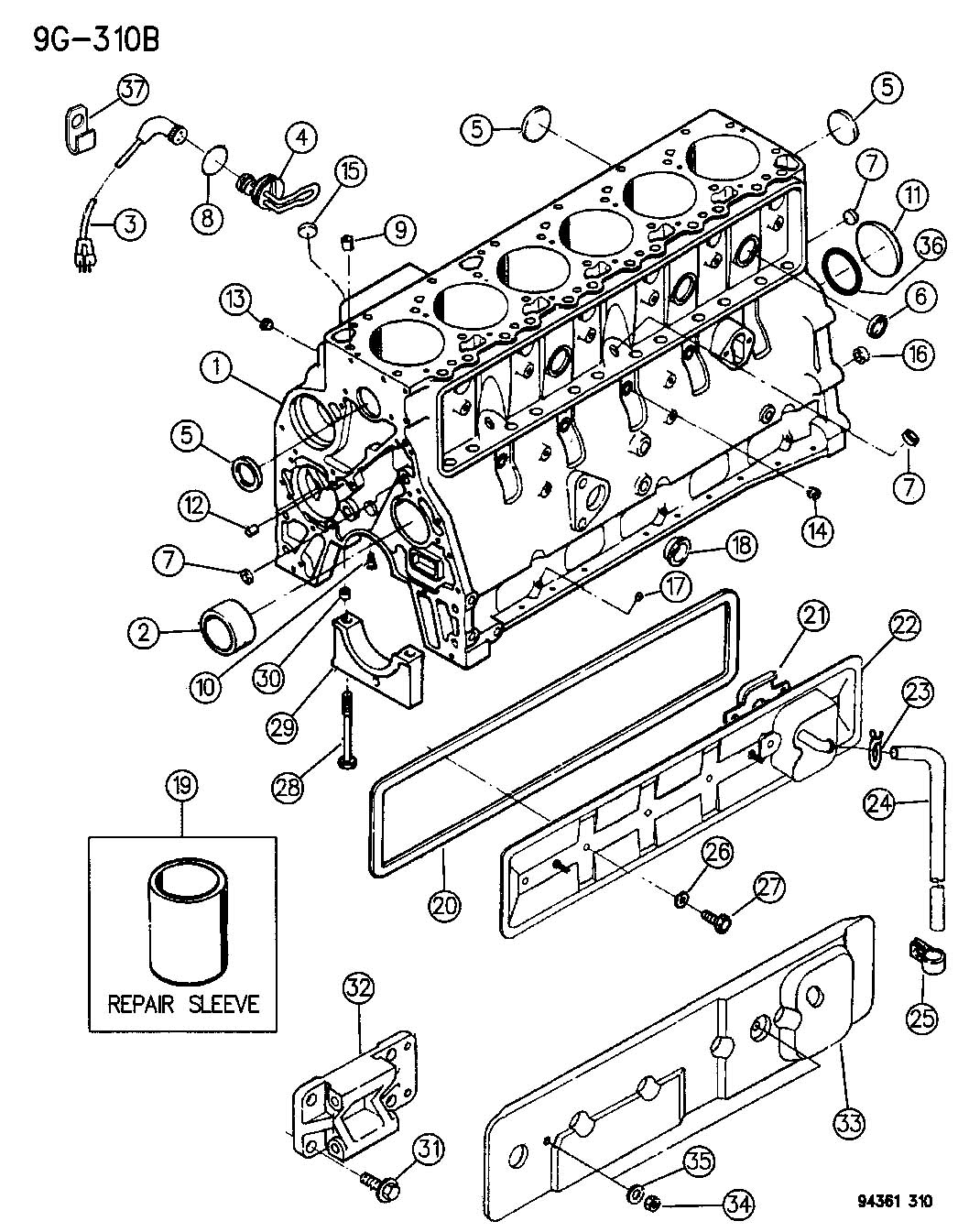 similiar 5 9 cummins parts diagram keywords cylinder block 5 9l engine cummins diesel fits dodge regular cab pick
