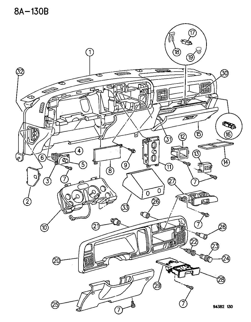 Diagram  Fuse Panel Diagram 95 Ram 1500 Full Version Hd Quality Ram 1500