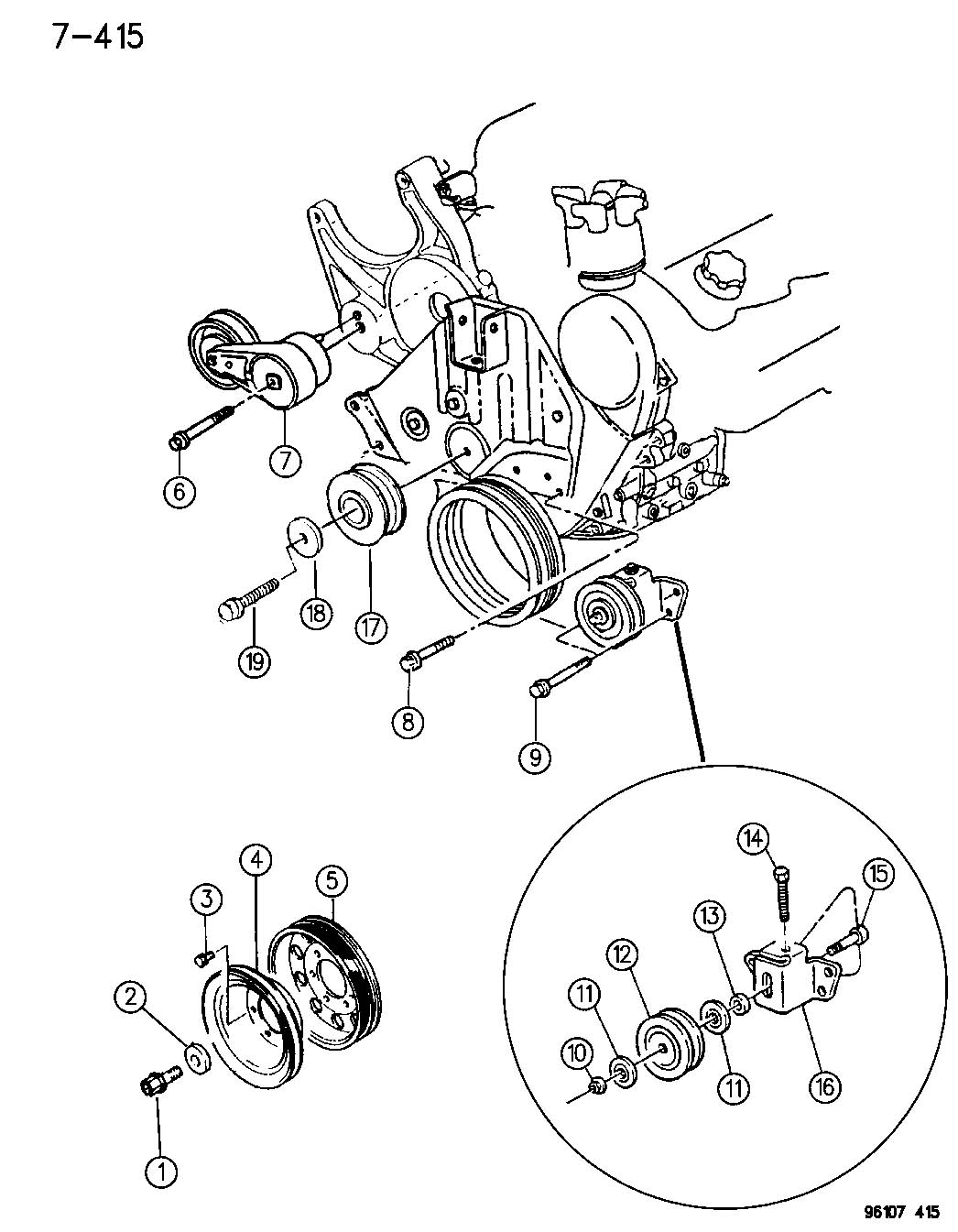 service manual  1994 dodge shadow head bolt removal