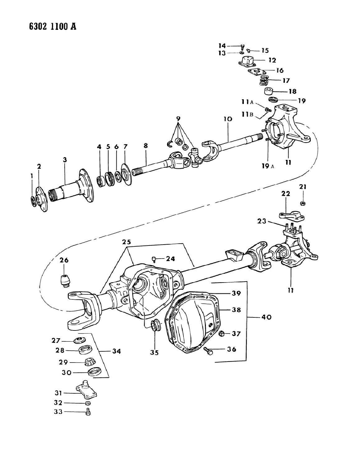 dodge dana 60 front axle parts diagram html