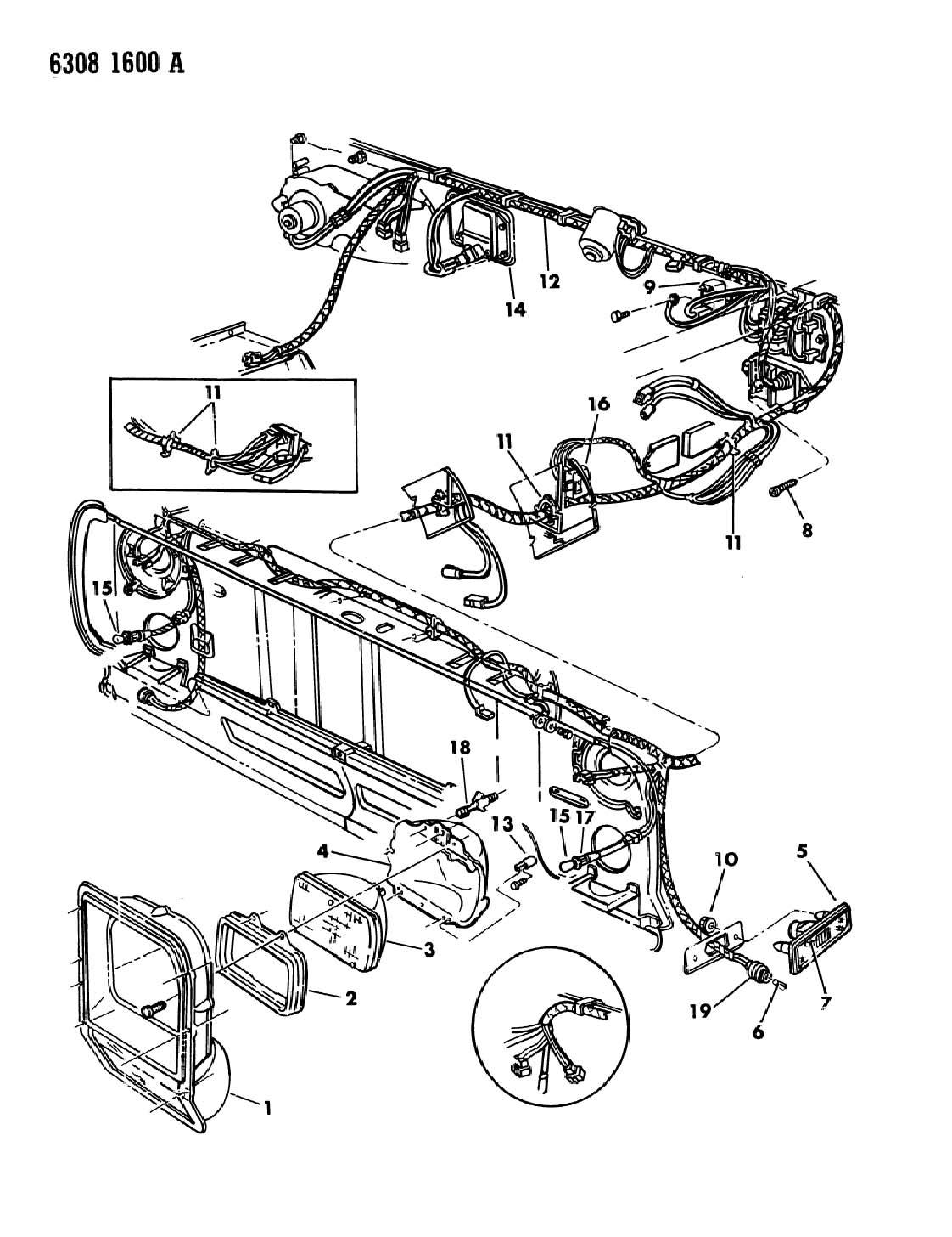 Chrysler Pt Cruiser Socket  Lamp  Used For  Tail And Side