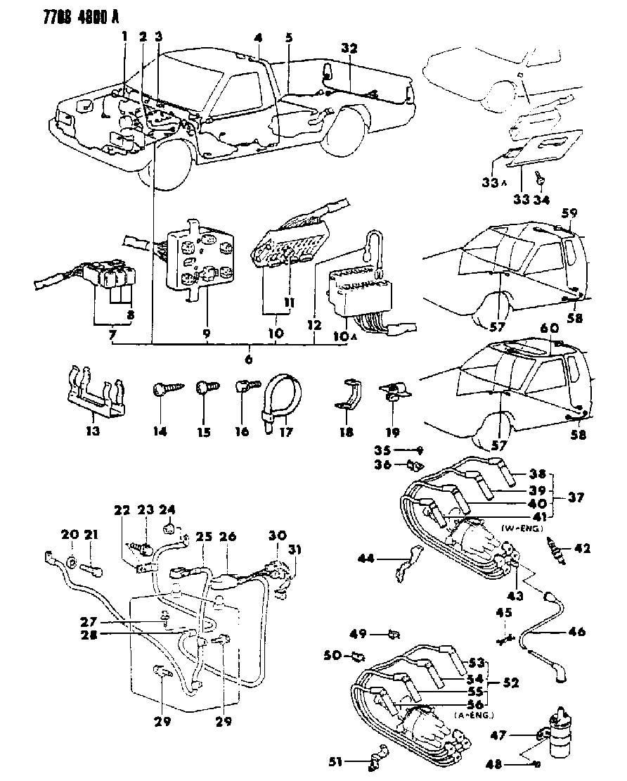 1986 dodge ram w250 wiring diagrams