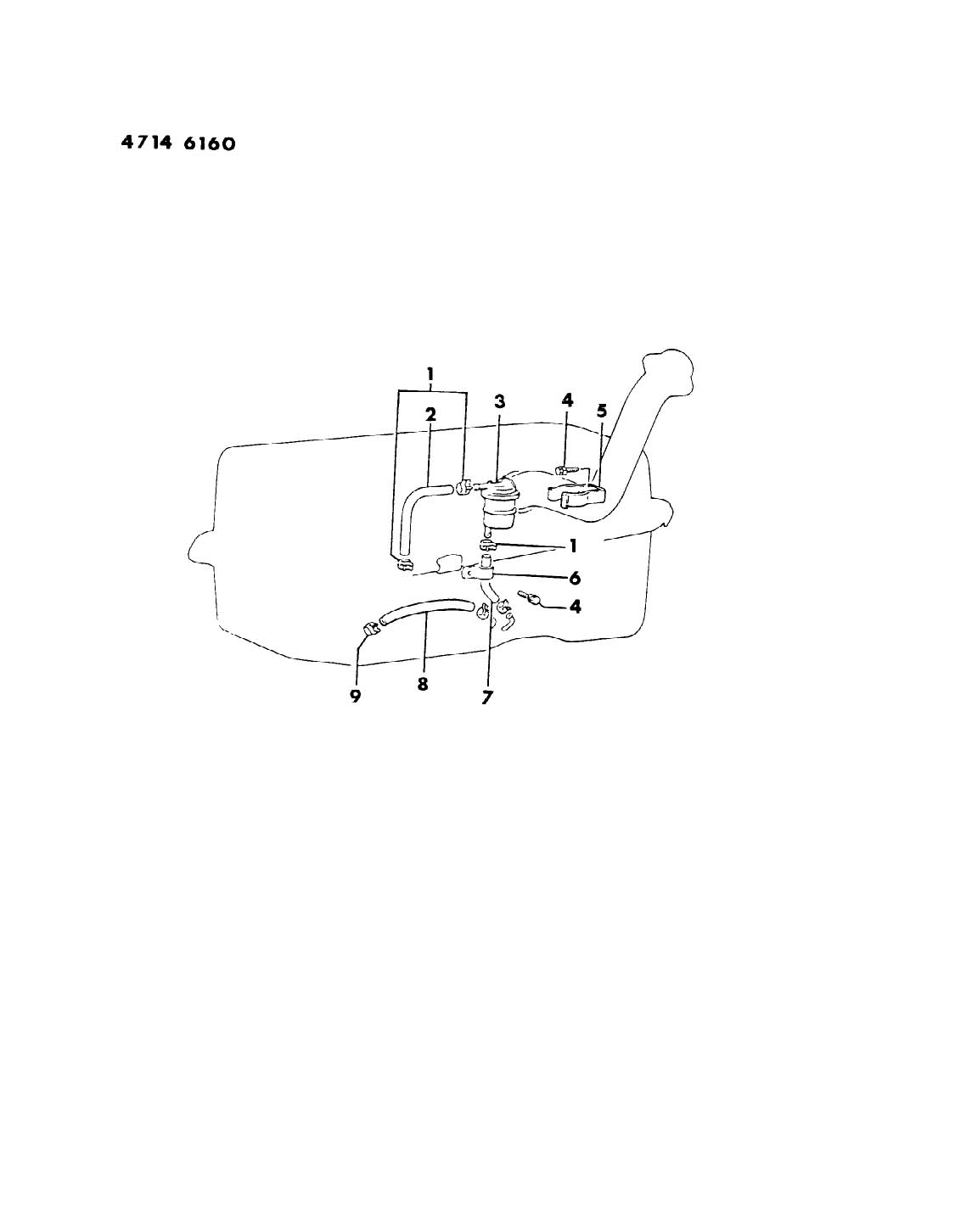 FUEL FILTER - OPIONAL 18 GAL. TANK MODEL 27 RWD-PICK UP - A ENGINE Diagram