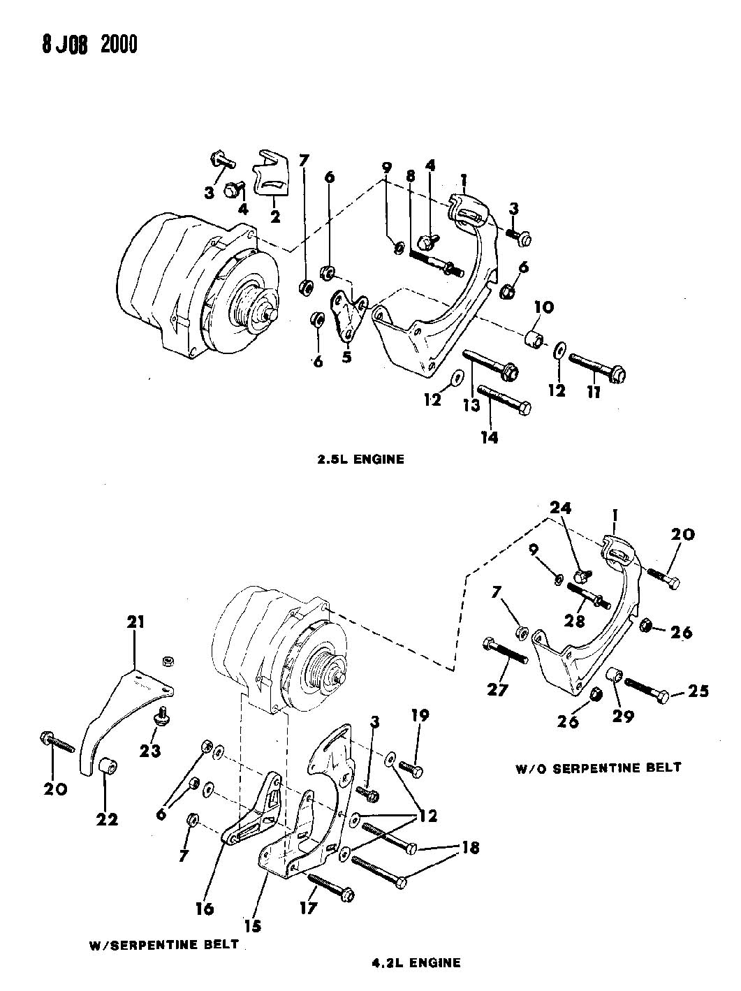 1987 jeep wrangler 4 2l engine diagram  1987  free engine image for user manual download