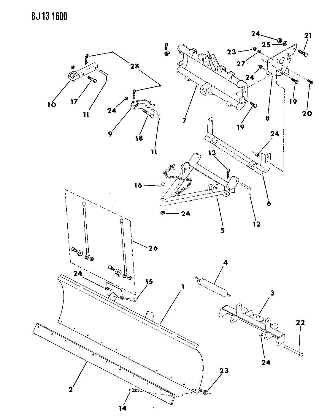 jeep comanche body parts