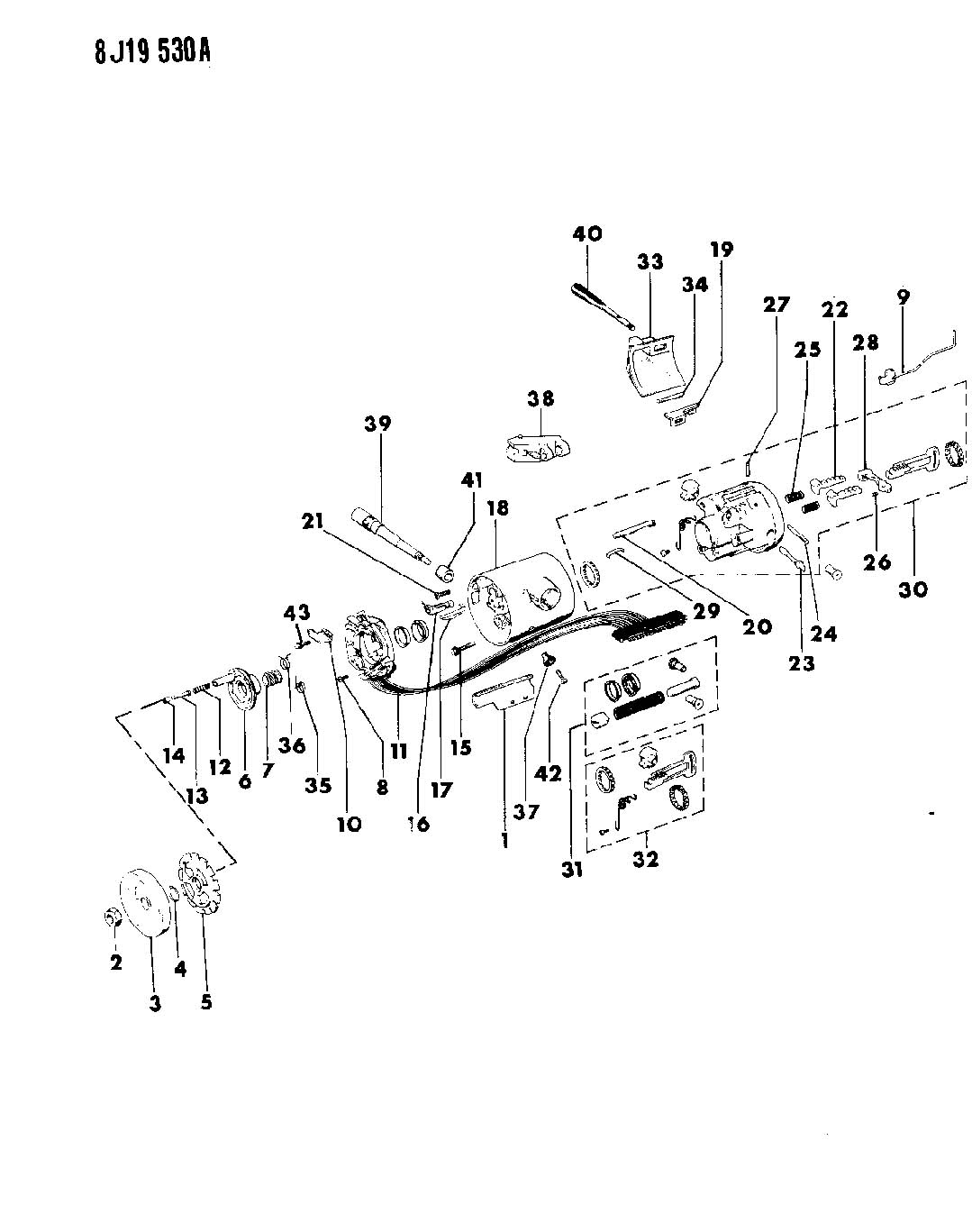 1989 Jeep Cherokee Steering Column Wiring Diagram 1990 Harness Schematics 93 Parts Imageresizertool Com Wrangler 1995