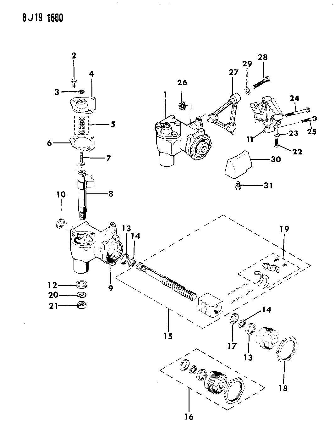 what is the purpose of the  u0026quot steering gear block u0026quot