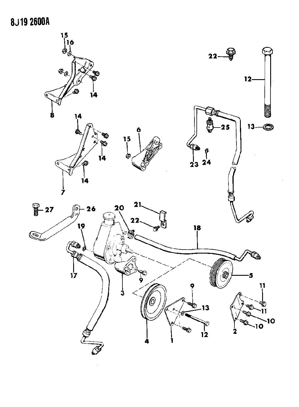 W on Ford Edge Belt Diagram
