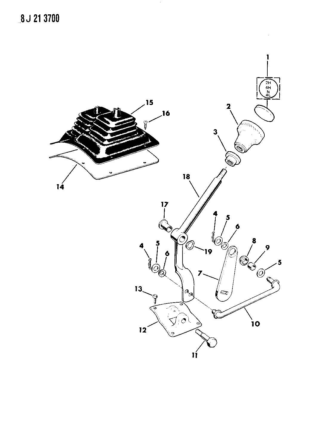 ShowAssembly in addition P 0900c1528007c2ad besides Steering Column Assembly Scat furthermore Chevy Np203 Transfer Case in addition Tachograph. on manual shift vehicles