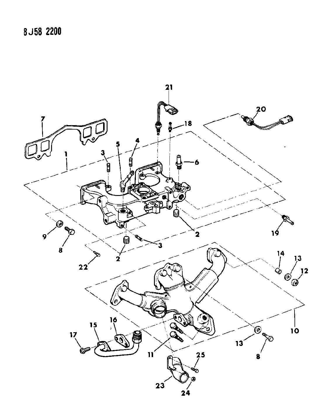 Jeep Manifold