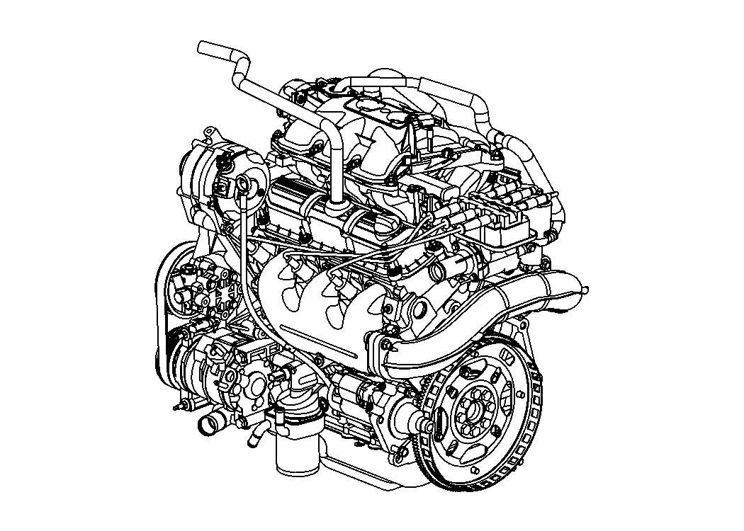 Dodge Avenger Pulley  A  C Compressor  Nonturbocharged