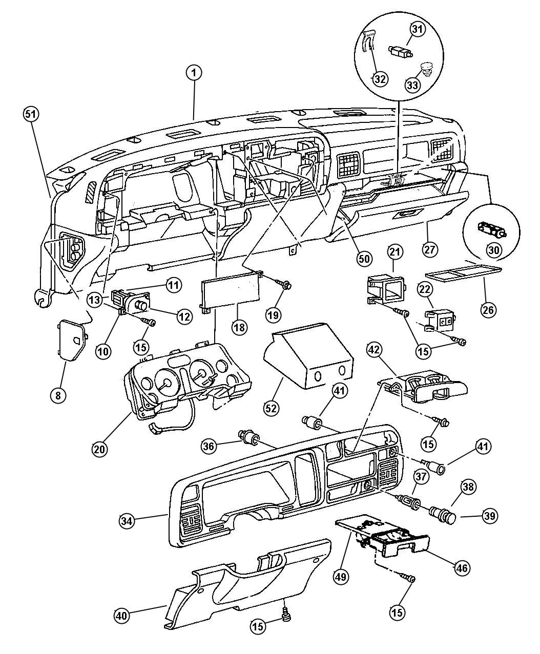 1997 Dodge Ram 1500 Alternator Wiring Diagram from www.factorychryslerparts.com