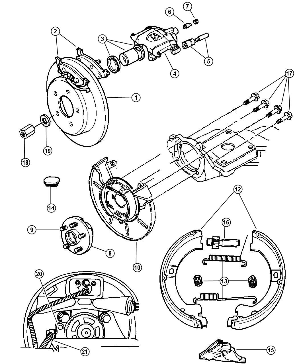 service manual  how adjust rear alighment 1997 plymouth