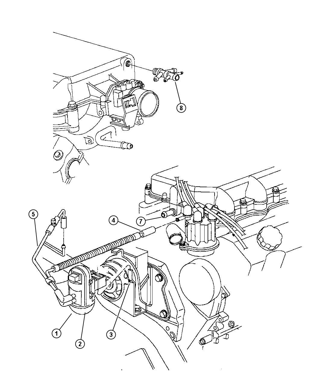 Ford F 150 Exhaust System Diagram E5813093dbb881e8 together with Fuel System Diagram together with 88 Crown Victoria 5 0l Engine Diagram in addition 2pn84 1999 Dodge Dakota 4xr4 Automatic Wd Replaced Heather moreover 7de5o Gm Astro Question Routing Power Steering Lines. on 93 dodge caravan vacuum lines